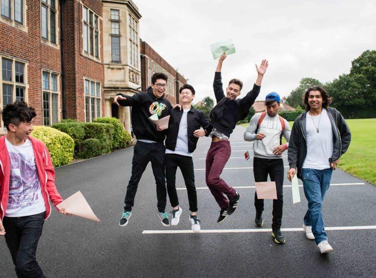 Best-ever GCSE grades follow A-level successes in vintage summer