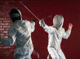 Gold for QE at first county fencing competition