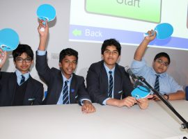 Houses battle in fiercely fought quiz contest