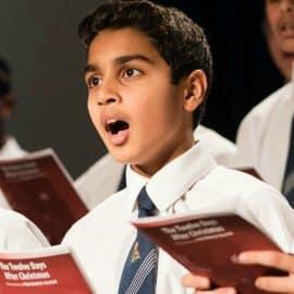 Dillan Shah choir