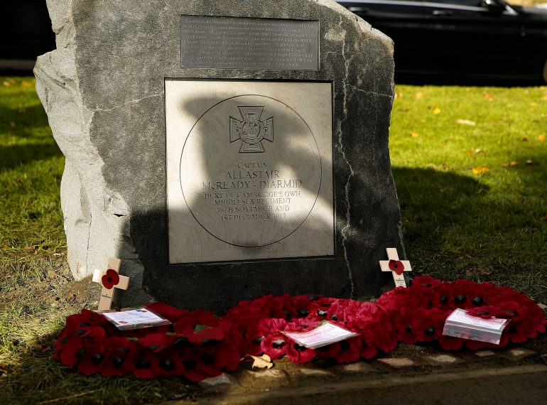 QE's First World War Victoria Cross recipient honoured
