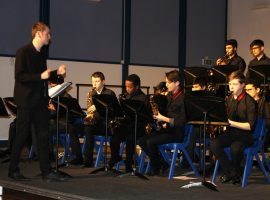 Welcoming new talent and bidding farewell to leavers at the Jazz Evening