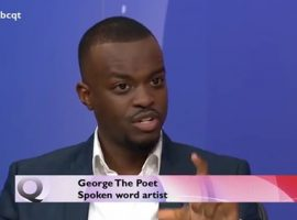 Dissenting voice: George the Poet on Question Time