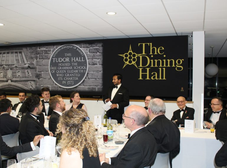 Topical subject provokes lively debate on the School's 445th birthday