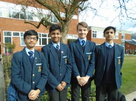 QE team wins Mathematics competition