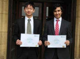 QE boys shine in final rounds of prestigious Biology competition