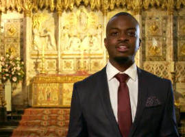 """Love is oblivious to the outside, even with an audience of millions"": George the Poet and the royal wedding"