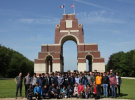 Broad perspective: trip to the trenches helps boys understand World War I both emotionally and analytically