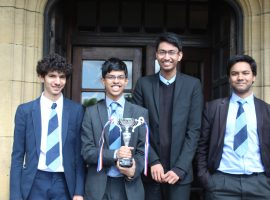 Explosive success in national Mathematics competition
