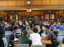 Borough of Barnet boys and girls flock to QE as primary schools event attracts biggest-ever turnout