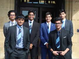 Top-three finish for QE team in national final of business and accounting competition