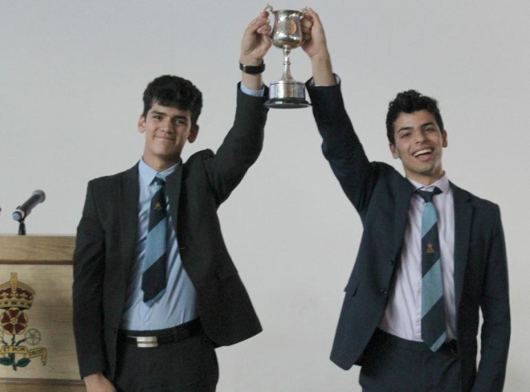 Back on top! Stapylton regain their title as QE's leading House after a year of competition