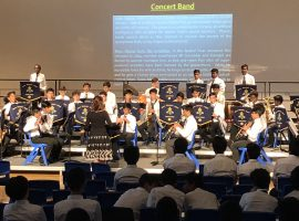 Eclectic summer concert showcases breadth of talent and opportunity at QE as School plans a bright future for Music