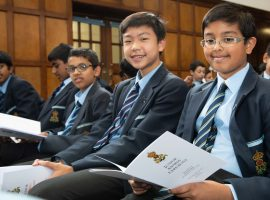 """""""The best of the best"""": Headmaster salutes Queen Elizabeth's School's young award-winners, urging them to keep moving forward"""