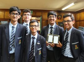 Mission possible: boys take on the task of solving a real-world problem