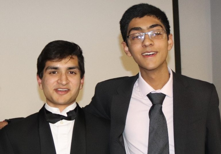 Smashed it! Sixth-formers' charity dinner raises more than double their target