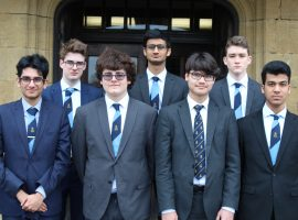 Team storm through to European Youth Parliament national session for third year in a row