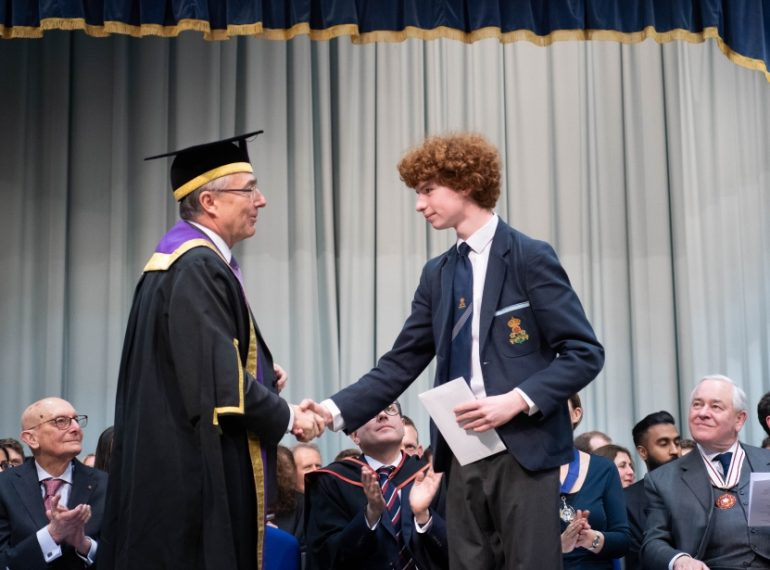 You are among the very best – now go into the world and help others: UCL Provost's message to QE prize-winners