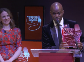 George the Poet's game-changing approach sweeps the board at the British Podcast Awards