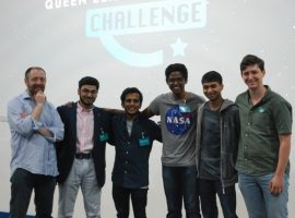 Starring roles: alumni aim to inspire current pupils with a love for space