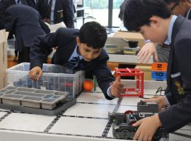 Robotics morning, noon and night!