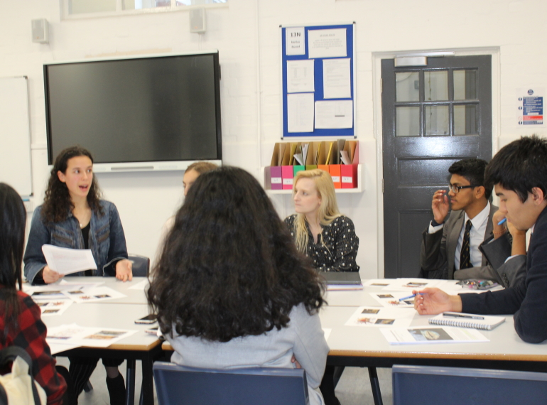 Sixth Form symposium: stimulating scholarship through debate
