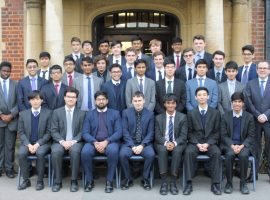 Golden generation: QE boys set new School record with 40 Oxbridge offers