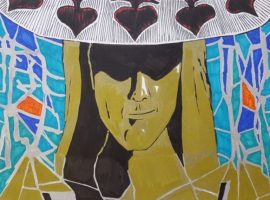 """""""For me, drawing is a reflective process…ambiguous, fragmented and surreal"""""""