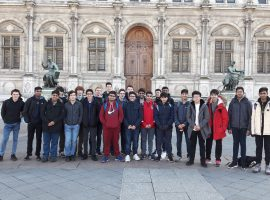 A journey from another time: Sixth-formers head for Paris, with the accent firmly on learning the language