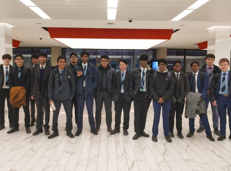 Sixth-formers explore alternative routes to success