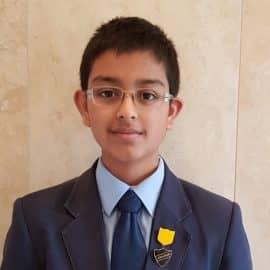Arjun Patel photo - lower school German