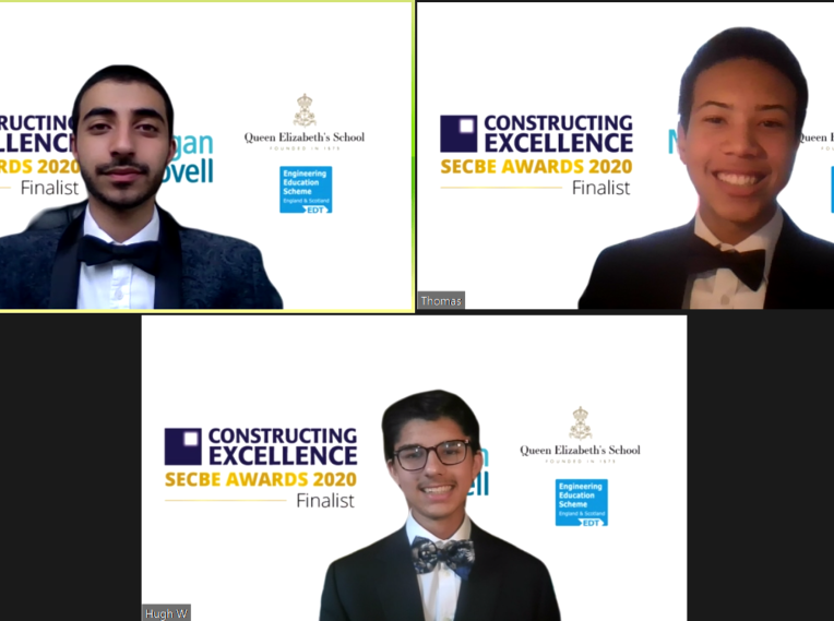 Doing the double! Sixth-Form engineers take two major construction industry awards