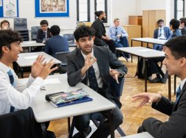 Scholars and citizens: workshops prepare sixth-formers for their place in the wider world