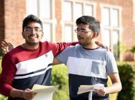 Terrific at the top! Highest grades surge as Queen Elizabeth's School records a great GCSE performance